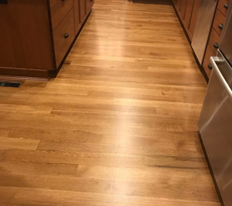 Custom hardwood flooring and refinishing